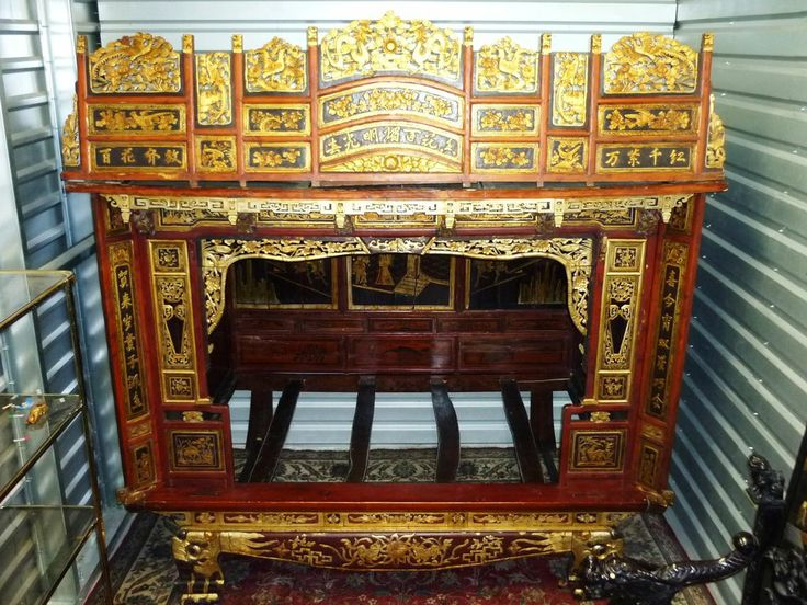 Antique Bed: 17 Best Images About CHINESE WEDDING BEDS On Pinterest