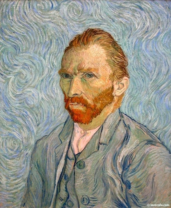 Van Gogh, maybe crazy, certainly awesome