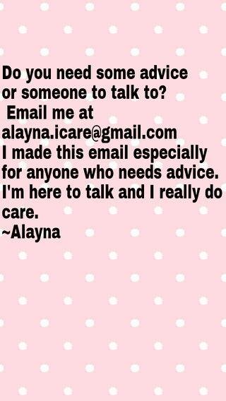 Please I really need help... An advice please!?