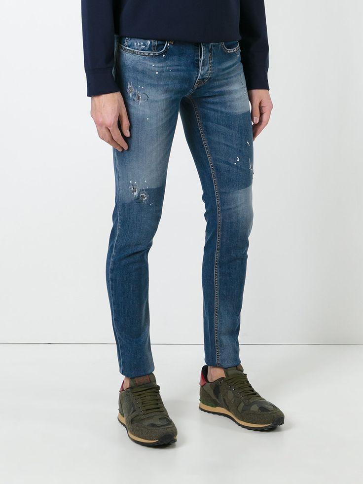 ICEBERG  jean skinny à effet usé  245 €