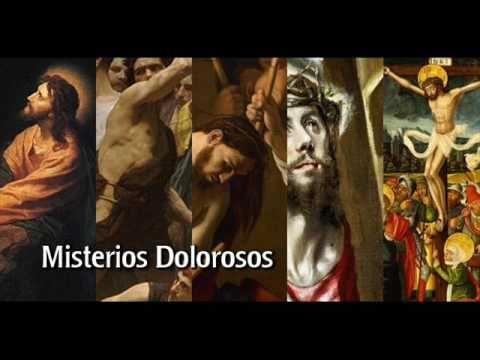 El Rincon de mi Espiritu: SANTO ROSARIO - MISTERIOS DOLOROSOS -  MARTES Y VI...