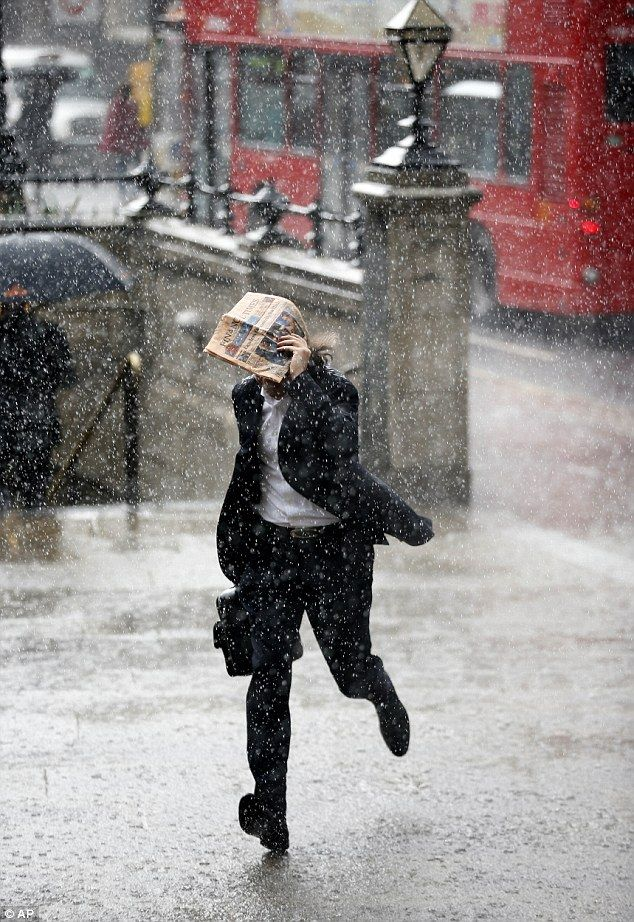 A very rainy day in London town. http://www.annabelchaffer.com/