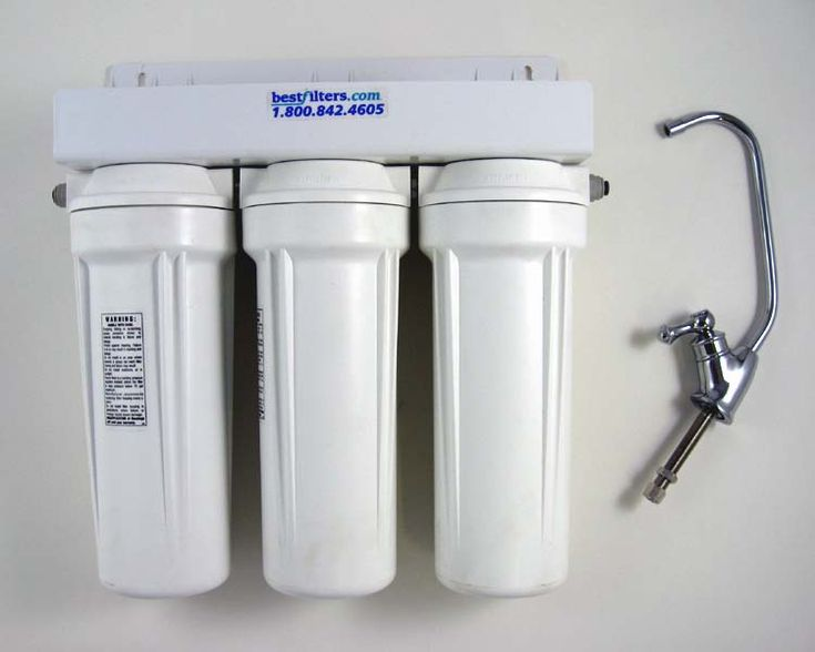 Under Sink Water Filter System By Bestfilters   Three Stages Of Water  Filtration With Replaceable Filters