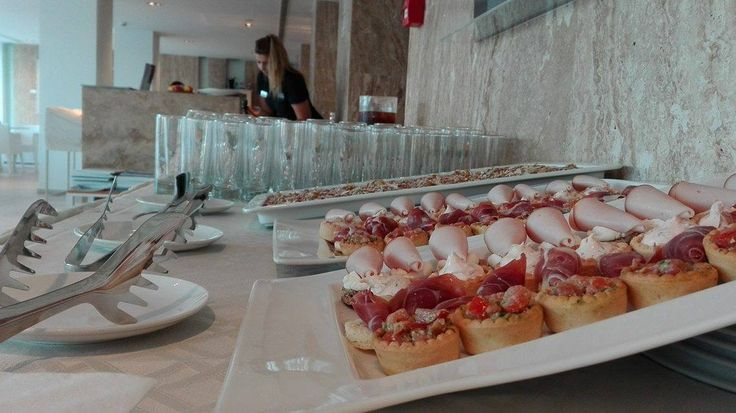 Catering for the IFFP 2016 cocktail party.