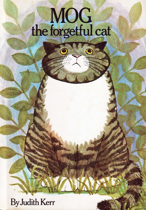 Vintage Kids Books My Kid Loves Mog The Forgetful Cat
