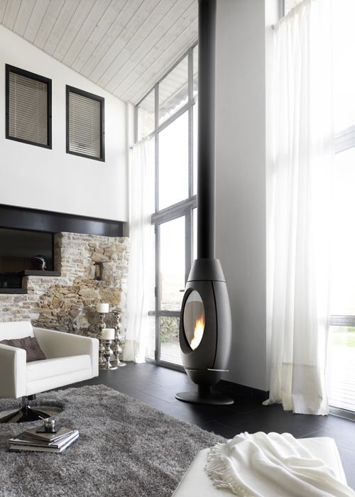 Stylish wood stove for cold winter nights | My desired home