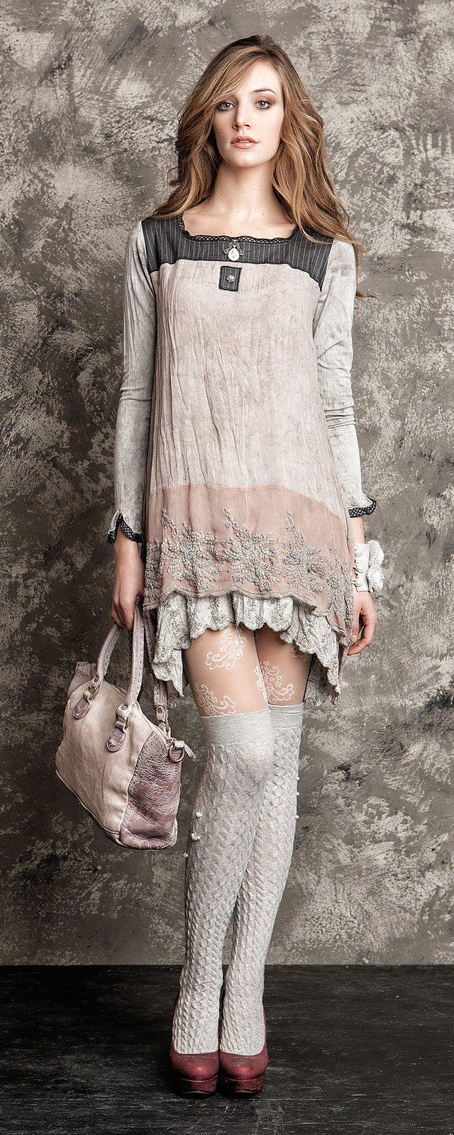 NEU Eingetroffen Kleid Tunika Elisa Cavaletti GR M H W Kollektion 14 15   eBay