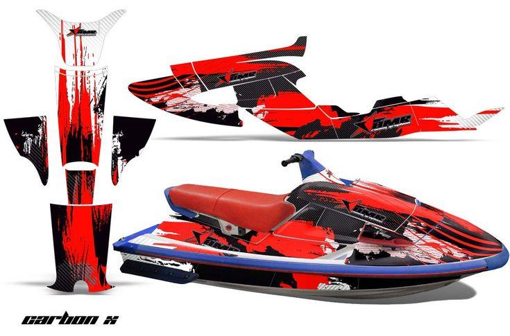 Custom Yamaha Wave Raider Graphics (1994 1996) Jet Ski