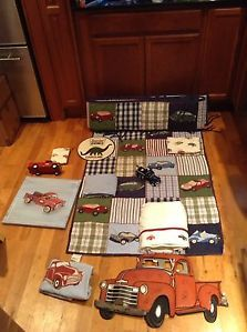 Pottery Barn Vintage Truck Nursery Set  this would be perfect ....can't find it anywhere :(
