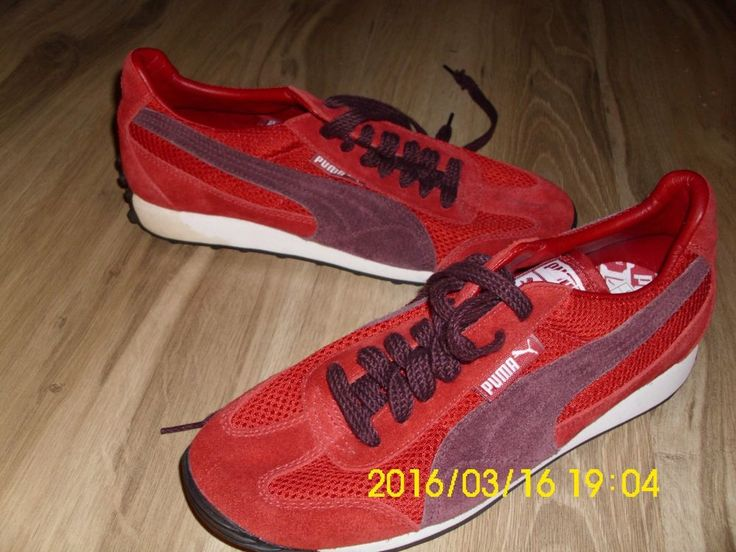 Puma sneakers Suede Leather & textile ~ athletic Women's size 8 ~ Never Worn #PUMA #Trainers