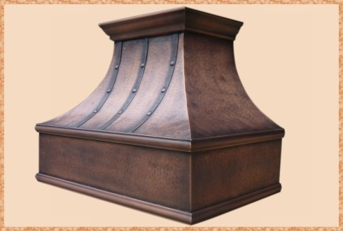 Florence Straps Copper Hood (Quick Ship)