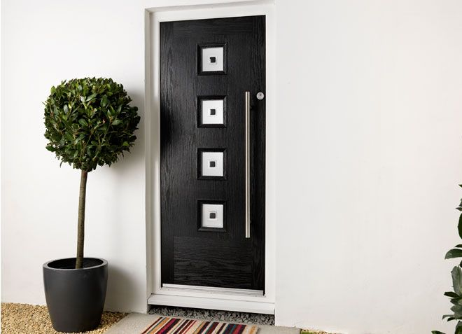GRP Ultra Contemporary Entrance Doors | Everest Home Improvements