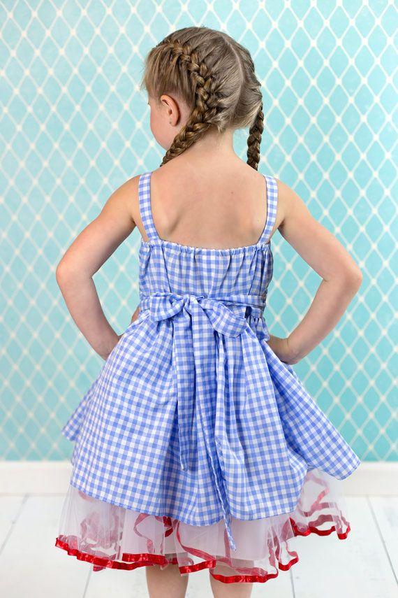 Traje de Dorothy vestido de mago de Oz Dorothy vestido