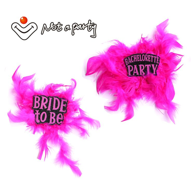 >> Click to Buy << Feather glitter fun feactured brooch 50% off for 5pcs Wedding event decorative craft for bachelorette hen party hens night favor #Affiliate