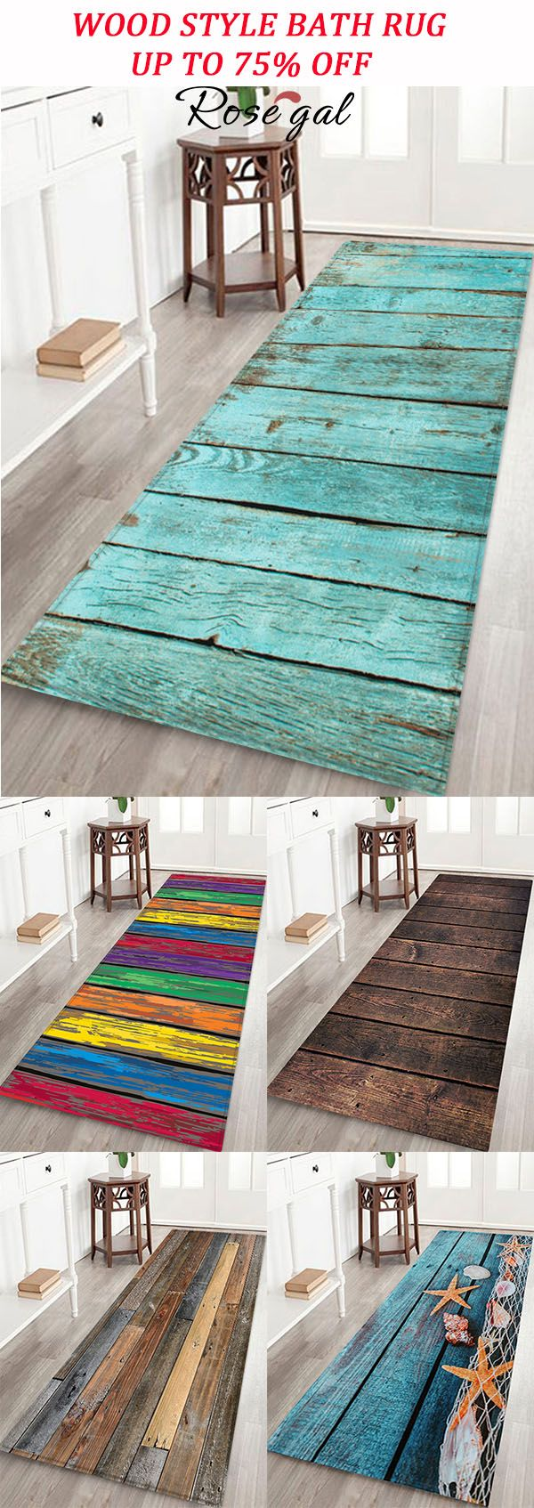 Wood Style Bath Rug Decoration Ideas For Home Apartment Rosegal Rug Round Rug Living Room Round Carpet Living Room Rugs In Living Room [ 1694 x 600 Pixel ]