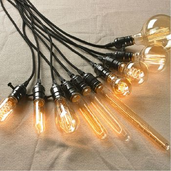 Loft Droplight Kunst kreative Café Edison-Lampen Persönlichkeit Bar Top Droplight Retro Wolfram Anhänger Lampe