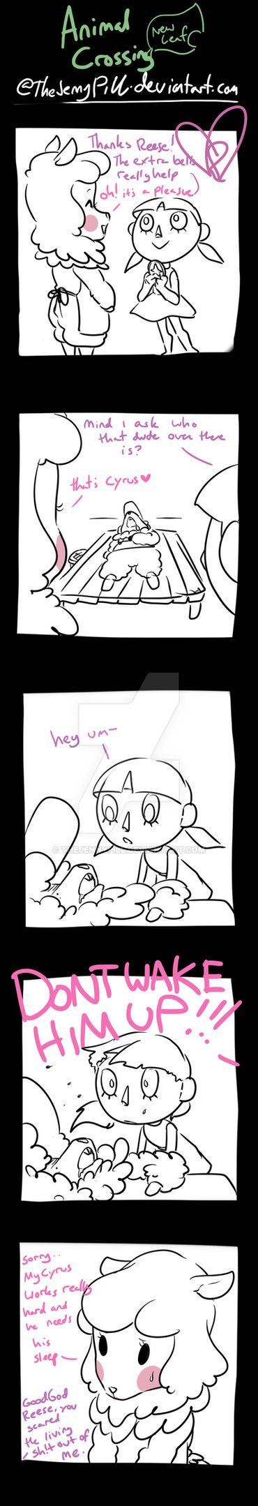 Animal Crossing New Leaf - comic 43 by TheJennyPill