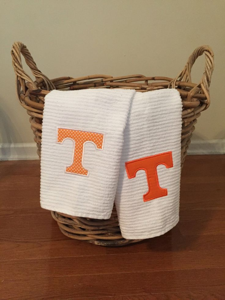 Tennessee Vols Game Day Kitchen Towel by SewPeepsBoutique on Etsy https://www.etsy.com/listing/472313353/tennessee-vols-game-day-kitchen-towel