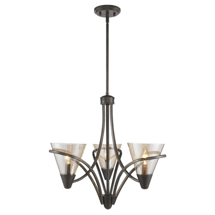 olympia mini chandelier in burnt sienna