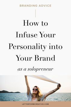 Are you a solopreneur, small business owner, or entrepreneur? Here is some great advice on how to add some of your personality into your business. There are tips for adding your personality into your brand identity, your headshot, your copy, your about page, and your email newsletters. Click through for some actionable ideas you can easily implement in your small business right now! / Branding Tipps für Personal Brands #branding