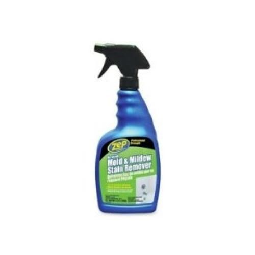 Zep Commercial Mold Amp Mildew Stain Remover 32 Oz Blue