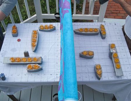 Sixteen Shot Drinking 'Battleship'
