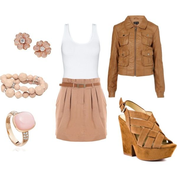 Nude Pinky, created by allykay93 on Polyvore