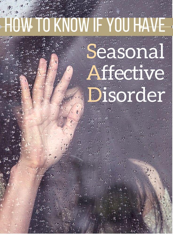 Seasonal affective disorder (SAD): What is it?