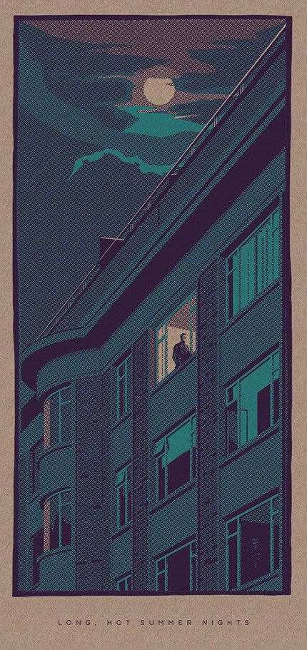 Liam Devereux's Haunting 'Nighttime' Illustrations | Hi-Fructose Magazine