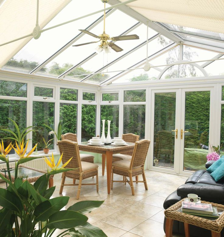 Our Edwardian range adds a modern twist to typical designs of the time, to create a classic look that combines well with all house styles, traditional or modern. #edwardian #conservatory
