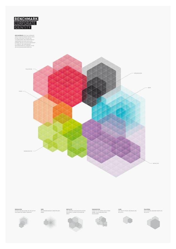 Benchmark Design Branding / Identity by Pascal Gabriel, via Behance