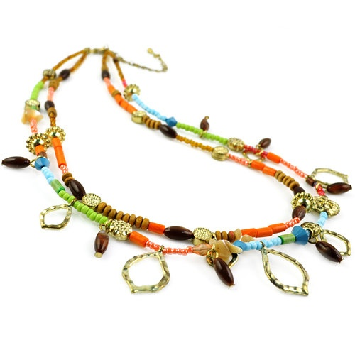 Charming beaded necklaces NL1671 by guijiangzhuo on Etsy, $9.50