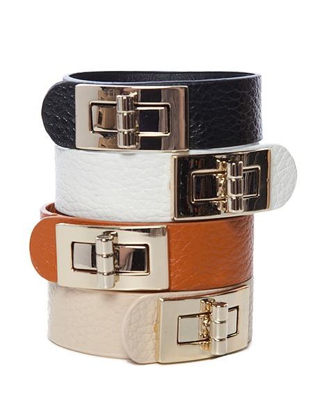 Buckled leatherette bracelet $4.99  #leatherette #bracelet #buckle