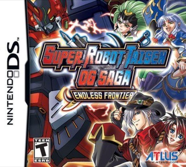 Super Robot Taisen OG Saga: Endless Frontier (Nintendo DS, 2009)