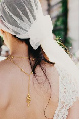 { Ask Cynthia }: Wedding Inspirations | Back Necklaces