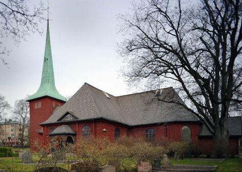 Karlskoga kirke.