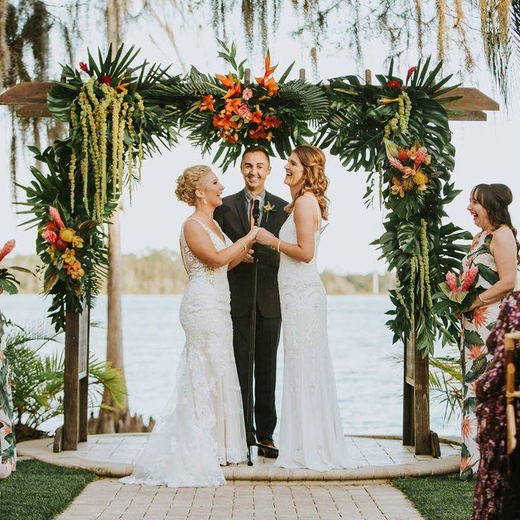 Hawaiian Wedding Altar: Fiji Ceremony Backdrop Inspiration