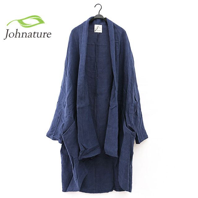 2016 New Women Linen Retro Original High-end Washing Texture Leisure Loose Long Trench Coat US $51.20 /piece To Buy Or See Another Product Click On This Link  http://goo.gl/IdJFhm