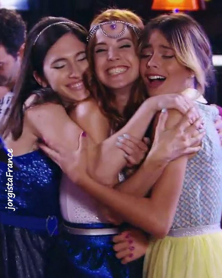 #Violetta3 Friends until the end!