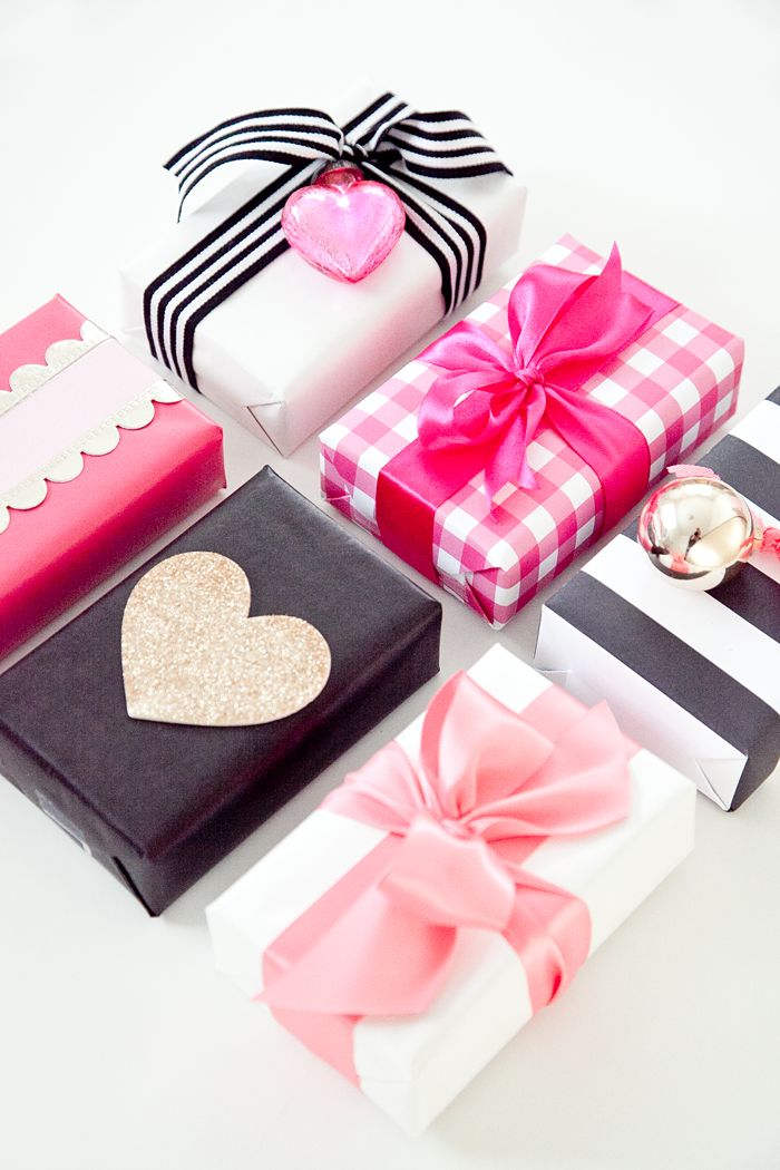 Cute and simple ways to wrap and gift your Valentine's Day presents!