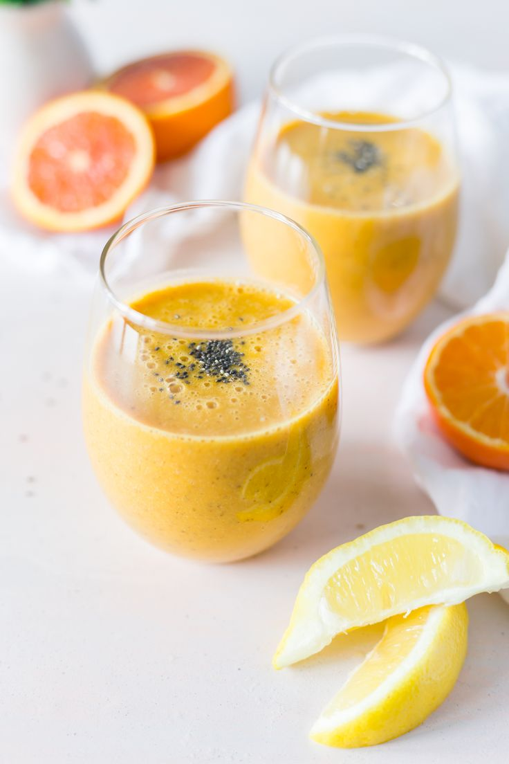 This Powerhouse Golden Turmeric Smoothie tastes like a sinfully delicious creamsicle popsicle. Ummm, yummm. But if that doesn't convince you to try it, well, perhaps knowing turmeric is loaded with health benefits just might.