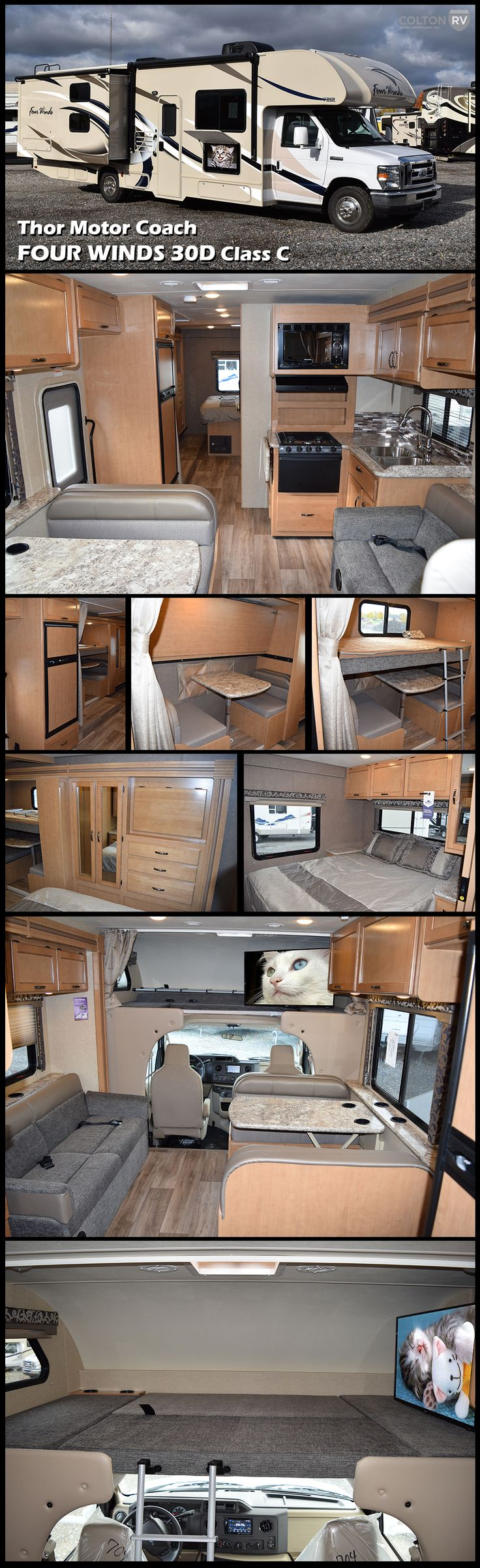 2017 thor motor coach four winds new class c rv for sale in orchard park new york