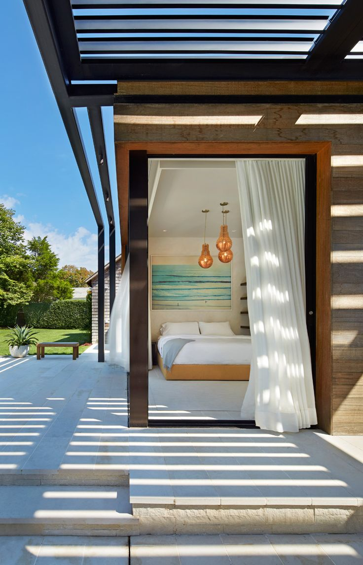 A Contemporary Pool House In The Hamptons // New York, USA