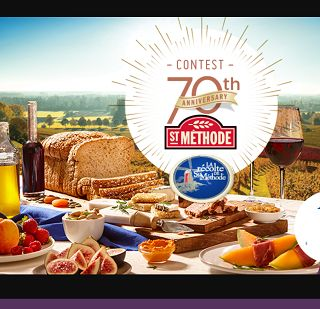 TO BE WON A trip for two on the wine roads of California AND 70 INSTANT PRIZES SAQ cards, Vitamix, St-Méthode BBQ sets Total value of $19,000 To enter, complete the entry form by using the barcode of a La Récolte de St-Méthode product.