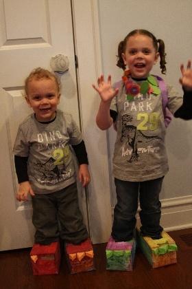 Dinosaur Stomp Comments | Preschool Crafts for Kids | FamilyFun