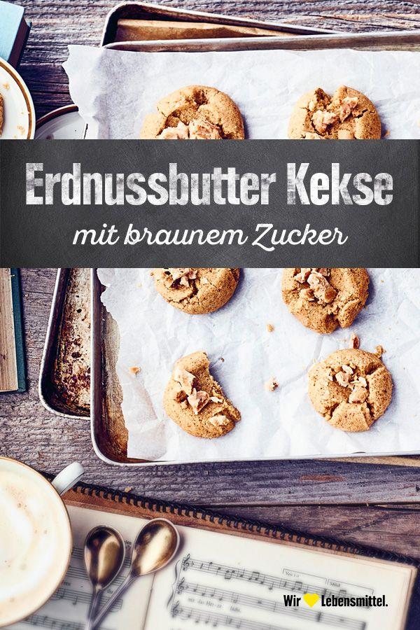 Erdnussbutter Kekse