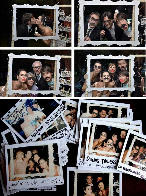 Fotos con los invitados de la boda originales / Join the Mood