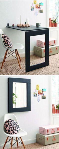 How to Make Mirror Folding Table - DIY & Crafts - Handimania