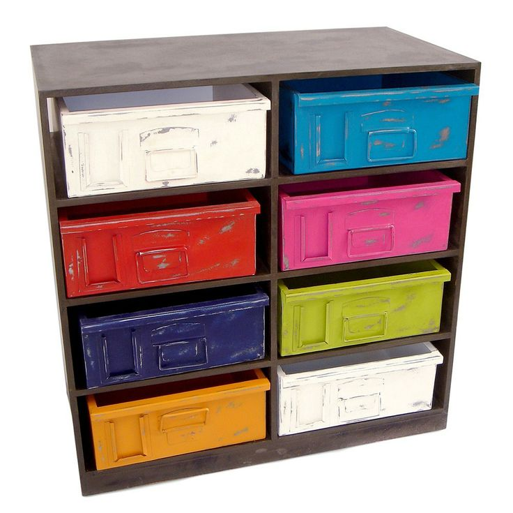 Multi-Colour Drawer Cabinet - Loft Furniture - on Temple & Webster today!