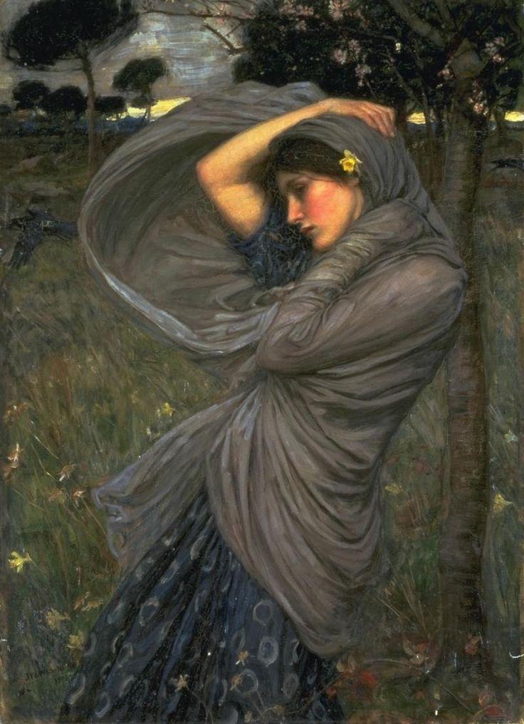 Boreas; John William Waterhouse; 1903